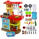 cocina de juguete con accesorios barata