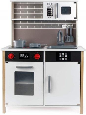 woomax - cocina de madera con luces y sonidos