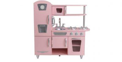 KidKraft 53179 cocinita vintage rosa