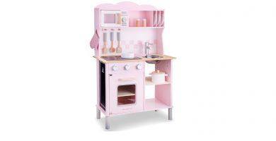 New Classic Toys-11067 Cocina, Color Rosa